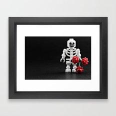 Love me? Framed Art Print