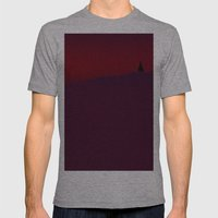 Rayingri Mens Fitted Tee Athletic Grey SMALL