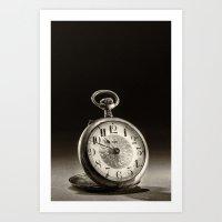CLOCK 1 Art Print