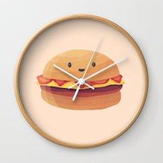 Burger Buddy Wall Clock