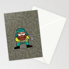 Lumberjack & Blue Ox Stationery Cards