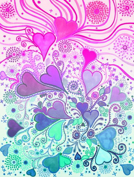 Doodle LOVE... Art Print