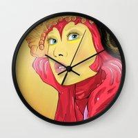 Superheroes SF Wall Clock
