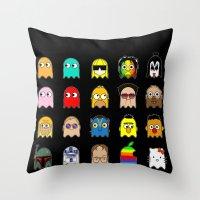 Pac Man Throw Pillow