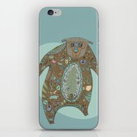 Big Brown Bear iPhone & iPod Skin
