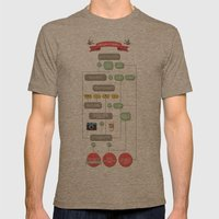 Are You A Hipster? Mens Fitted Tee Tri-Coffee SMALL