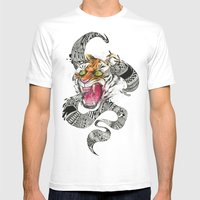 RAWR Mens Fitted Tee White SMALL