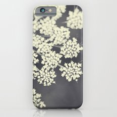 Black and White Queen Annes Lace Slim Case iPhone 6s