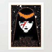 Emily Stardust Art Print