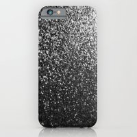iPhone & iPod Case featuring Silver Sparkle Glitter by xjen94