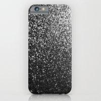 Silver Sparkle Glitter iPhone 6 Slim Case