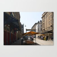 The Stalls Canvas Print