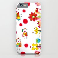Flower Garden iPhone 6 Slim Case
