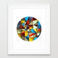 Circle Maker Framed Art Print