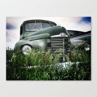 Iowa Truck Canvas Print