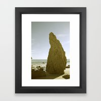 Matador Beach Framed Art Print