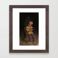 Horor Fiction Framed Art Print