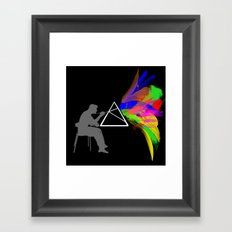 Triangle Universe Framed Art Print