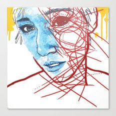 Lifting A Fearful Eye Canvas Print