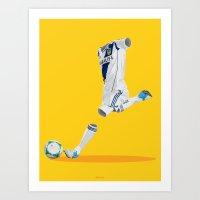 LA Galaxy 2012/13 Art Print