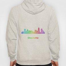 Rainbow Charlotte skyline Hoody