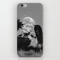 The Friendly Visitor iPhone & iPod Skin