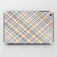 Rainbow Weave 45 iPad Case