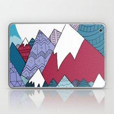 Blue Sky Mountains Laptop & iPad Skin