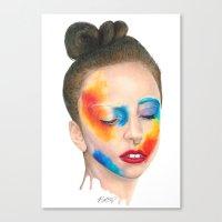 Make 'em Touch Canvas Print