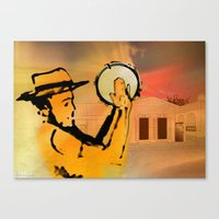 El Plenero Canvas Print