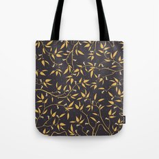 Gold Pattern Tote Bag