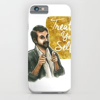 iPhone & iPod Case featuring Treat yo self! by Tiffany Willis