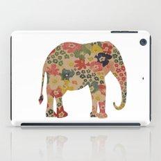 Flower Power Elephant iPad Case