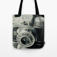 Hit Vintage Camera Tote Bag