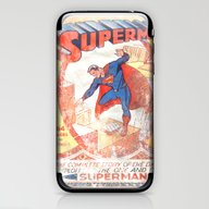 Superman Poster iPhone & iPod Skin