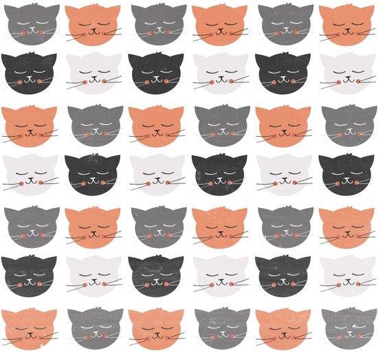 Cat Madness Art Print