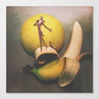 Jack Bananaton Canvas Print