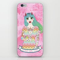Little Girl Lost iPhone & iPod Skin