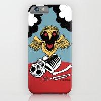 iPhone & iPod Case featuring Búho de la Muerte by Alberto Corradi