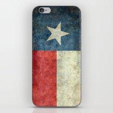 Texas Flag - Retro 1 iPhone & iPod Skin