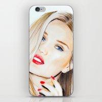Rosie Huntington Whitele… iPhone & iPod Skin