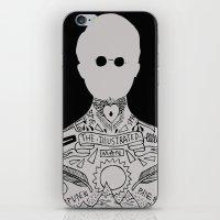 the illustrated man - bradbury iPhone & iPod Skin