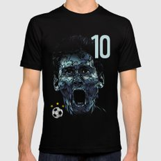 Messi SMALL Black Mens Fitted Tee