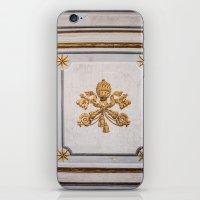 Vatican Wood Door, Italy iPhone & iPod Skin