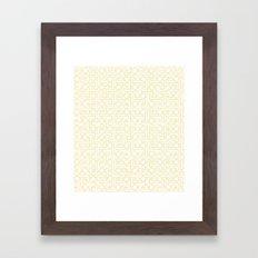 Textile Inspired Framed Art Print