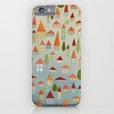 100 little houses iPhone 6 Slim Case
