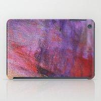 Red Vastness iPad Case