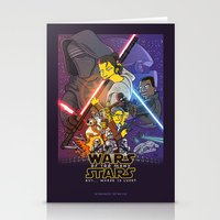 Wars Of Too Many Stars Stationery Cards