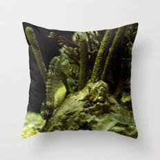 Aquatic Steed Throw Pillow