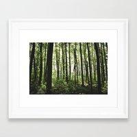 Stilts Framed Art Print